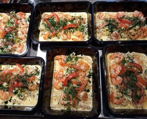 dagschotel scampi pasta